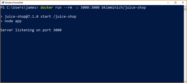 Docker Install Step 3